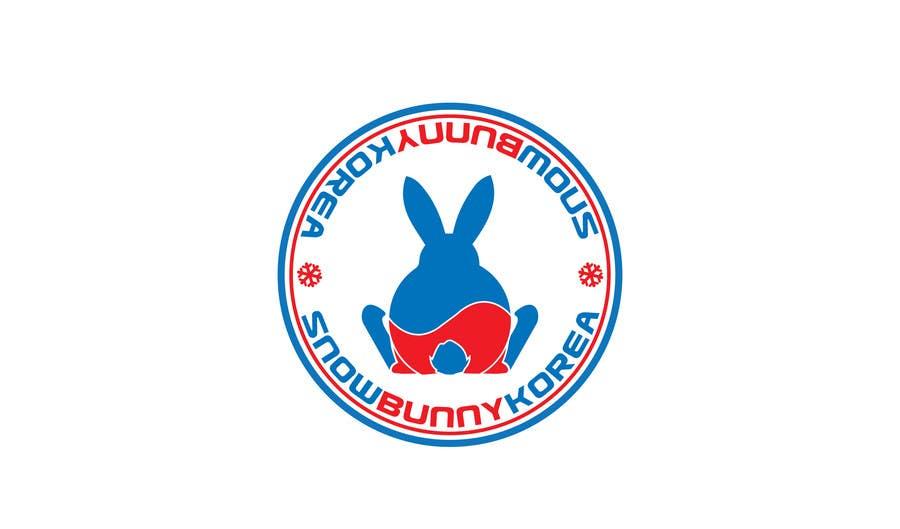 Penyertaan Peraduan #                                        33                                      untuk                                         Design a Logo for Snow Bunny Korea