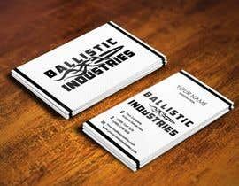nº 40 pour Business Cards for a Firearms Business - Ballistic Industries par pointlesspixels