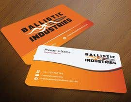 nº 50 pour Business Cards for a Firearms Business - Ballistic Industries par mamun313