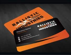 nº 51 pour Business Cards for a Firearms Business - Ballistic Industries par mamun313