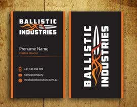 #63 for Business Cards for a Firearms Business - Ballistic Industries af mamun313