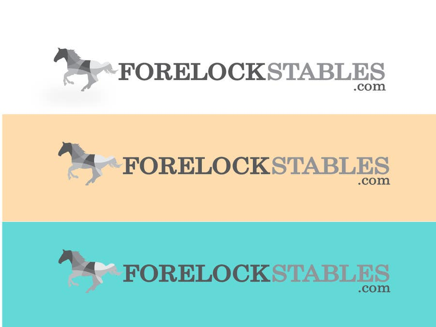 #88 for Design a Logo for ForelockStables.com by carlosbatt