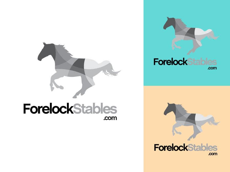#92 for Design a Logo for ForelockStables.com by carlosbatt