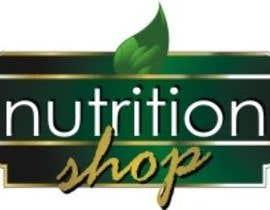 Nro 74 kilpailuun Design a Logo for Nutrition Shop käyttäjältä mestyl