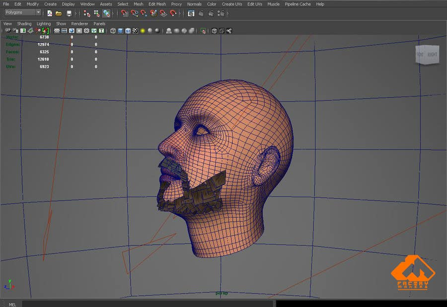 #16 for Create realistic 3D beard for interactive viewing by Ananthapushpan
