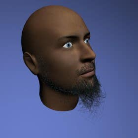 #18 for Create realistic 3D beard for interactive viewing by handras88