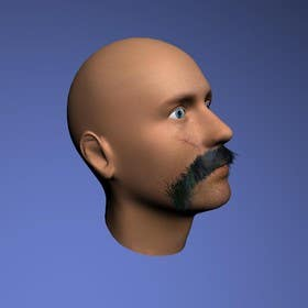 #25 for Create realistic 3D beard for interactive viewing by handras88