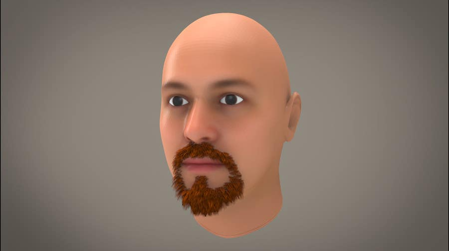#47 for Create realistic 3D beard for interactive viewing by DedaDjoka