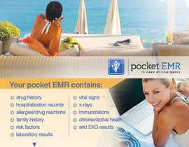 #40 para Flyer Design for Pocket EMR por Ollive