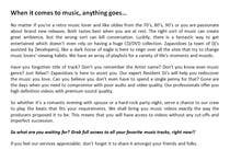 Contest Entry #29 for Write About Us page for a music video website