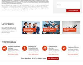 #3 para Design a Website Mockup for LawFirm por designsproject