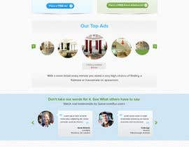 nº 7 pour finalize a website home page design from mockup par atularora