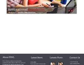 nº 5 pour Home Page Design par webidea12