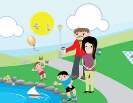 #25 for Illustration Design for Bambino Brands Facebook Timeline af WintryGrey