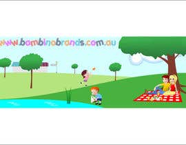 #36 untuk Illustration Design for Bambino Brands Facebook Timeline oleh studiokimus