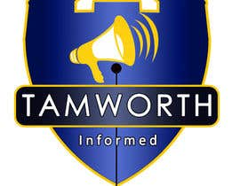 #13 for tweak / finish/ improve a Logo for Tamworth Informed - news blog af jinboss1