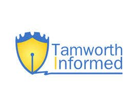 #17 for tweak / finish/ improve a Logo for Tamworth Informed - news blog af ibed05