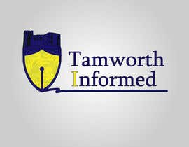 #31 for tweak / finish/ improve a Logo for Tamworth Informed - news blog by redkanvas