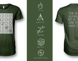 SeanKilian tarafından Outdoors Lifestyle Graphic Tee Shirt | Simple, Modern Design için no 28