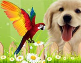 Nro 22 kilpailuun Top on the website of animals käyttäjältä Rightwaydesign
