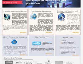 #16 para Design a Website Mockup for Precisetech.com.au por nupurghosh2