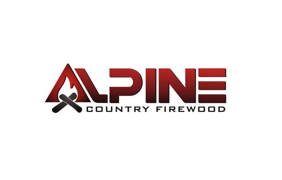 Entri Kontes #187 untukLogo Design for Alpine Country Firewood