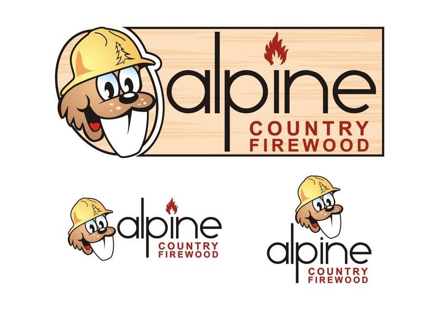 Конкурсная заявка №150 для Logo Design for Alpine Country Firewood