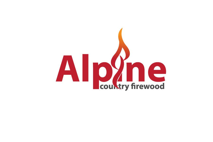 Entri Kontes #82 untukLogo Design for Alpine Country Firewood