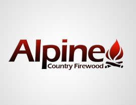 #106 para Logo Design for Alpine Country Firewood por Ladydesign