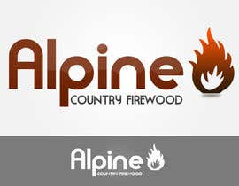 #261 for Logo Design for Alpine Country Firewood af Cesco96