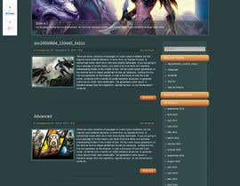 #4 para Create a Wordpress Template for Game Dev Website por panafff