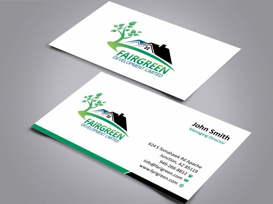 Contest Entry 2 For Design Some Business Cards Stationary A Property Development Company