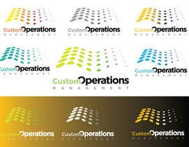nº 14 pour Design a Logo for a Software Service - 'Custom Operations Management / CustomOps' par zaldslim
