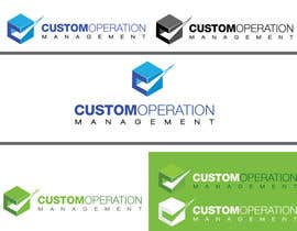 nº 65 pour Design a Logo for a Software Service - 'Custom Operations Management / CustomOps' par zaldslim