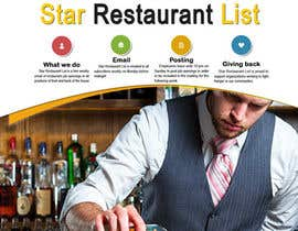 nº 5 pour Design a Facebook landing page for Star Restaurant List Facebook page par atomixvw