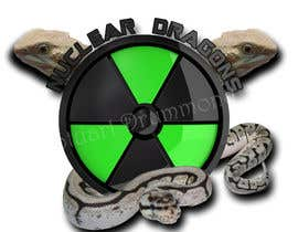 stuartdrummond tarafından Nuclear Dragons Logo için no 35