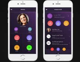 Nro 3 kilpailuun Design an App Mockup käyttäjältä ancineha