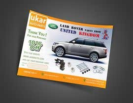 #73 for Design a Flyer for online Land Rover auto parts store. by nuwantha2020