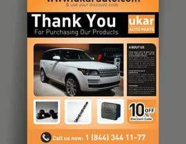 Chandu87 tarafından Design a Flyer for online Land Rover auto parts store. için no 40