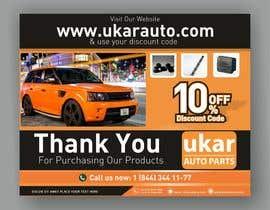 Chandu87 tarafından Design a Flyer for online Land Rover auto parts store. için no 68