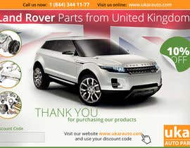 #46 for Design a Flyer for online Land Rover auto parts store. by zhoocka