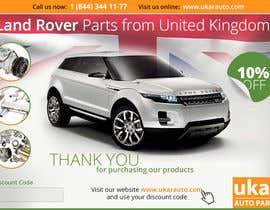 zhoocka tarafından Design a Flyer for online Land Rover auto parts store. için no 46