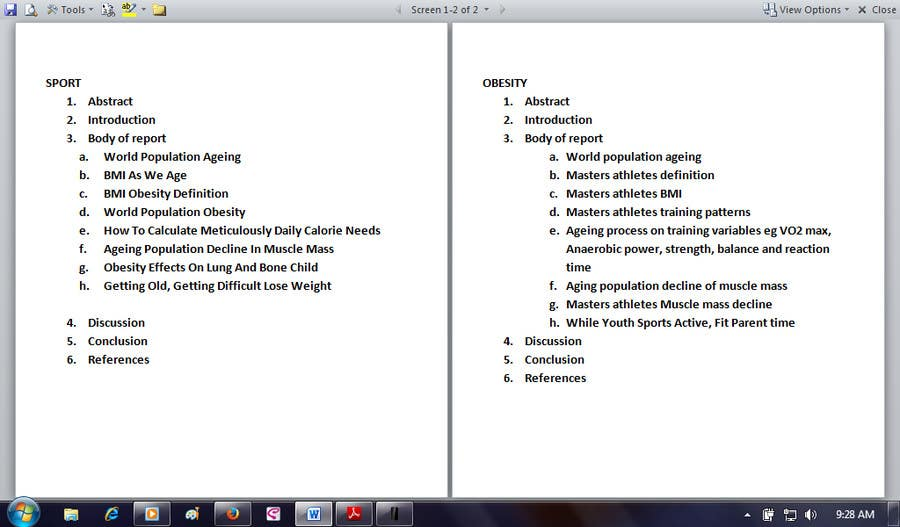#26 for Academic Writing for Sports Science Journal by evanuril