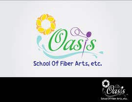 #167 untuk Graphic Design for The Oasis School of Fiber Arts, Etc oleh koenamers