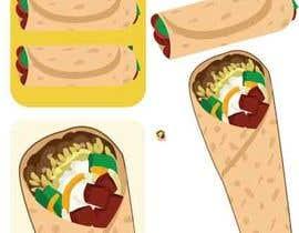 Nro 14 kilpailuun BurritoFriday Logo käyttäjältä AidaRamirez