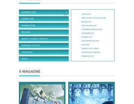 bestwebthemes tarafından Design a Website Mockup için no 8