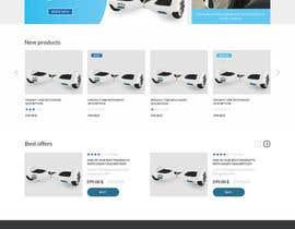 Nro 1 kilpailuun Design a Website Mockup käyttäjältä zainalabidinxyz