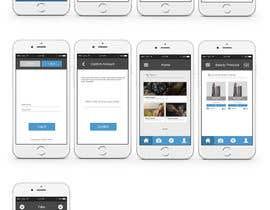 Nro 5 kilpailuun Design an App UI/UX käyttäjältä visualoutline