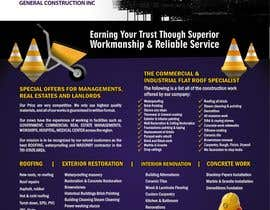 #23 for UNIQUE UNIQUE - Design a Flyer for construction company by cristinaDPI