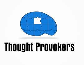 #58 για Logo Design for The Thought Provokers από freelancework89
